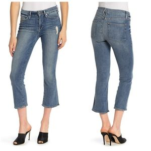 Good American Good Cuts Cropped Jeans